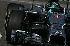 Formel 1 - Vettel in Reihe zwei: Qualifying: Rosberg schl�gt Hamilton