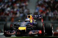 Formel 1 - Ricciardo baute in falsche Richtung: Vettel mit viel Risiko auf Platz drei
