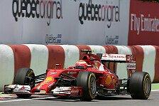 Formel 1 - Montreal & Ferrari passen nicht zusammen: Kein Grip! R�ikk�nen rutscht herum