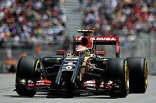 Formel 1 - Gute Pace, kein Resultat: Katastrophaler Doppelausfall f�r Lotus