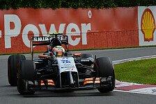 Formel 1 - Was machte H�lkenberg & Perez so stark?: Force India mischt die Spitze auf