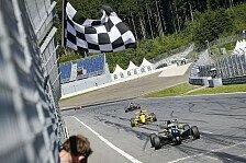 ADAC Formel Masters - Und immer wieder Jensen...: Rookie Eriksson triumphiert