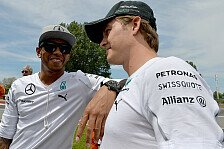 Formel 1 - Wollte Hamiltons Rennen zerst�ren: Villeneuve schie�t gegen Rosberg
