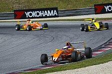 ADAC Formel Masters - Generalprobe f�r die Formel 1: Maximilian G�nther erobert Podium