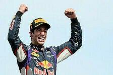 Formel 1 - Chapeau, Daniel Ricciardo!: L�chelnd zum Sieg: Daniel Ricciardo