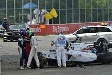 Formel 1 - Bilder: Kanada GP - Unfall Massa/Perez