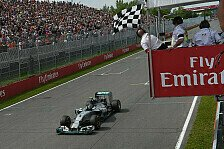 Formel 1 - Nicht unser Anspruch, gegen Red Bull zu verlieren: Rosberg: Mussten von Anfang an Bremsen schonen