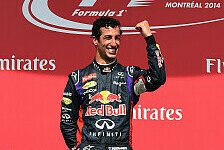 Formel 1 - Am Ende ging es schnell: Ricciardo: Der Sieg ist surreal