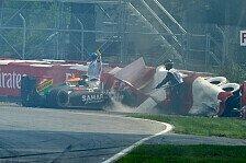 Formel 1 - Danner: Schuld bei Massa: Perez: Doch keine Strafe nach Massa-Unfall?