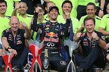 Formel 1 - Die Saison ist noch lang : Red Bull schreibt Titel nicht ab