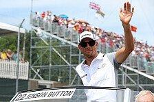 Formel 1 - Kann McLaren seine Schw�chen ausb�geln?: Button mutig: Jagd auf Ferrari er�ffnet