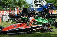 Formel 1 - Bilder: Kanada GP - Unfall Bianchi/Kobayashi