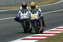 MotoGP - Altmeister schw�rmt von Zweikampf bis zur letzten Kurve: Rossi: Barcelona-Duell mit Jorge 2009 das Beste