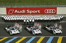 24 h von Le Mans - Harte Konkurrenz im Kreis der Hybrid-Sportwagen: Audi: Die bislang h�rteste Aufgabe