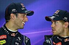 Formel 1 - Hungrig in Hockenheim: Ricciardo: Vettel kommt wieder in Form