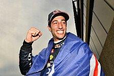 Formel 1 - Der erste Sieg ist der wichtigste: Jones: Ricciardo kann Weltmeister werden
