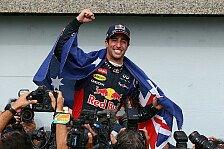 Formel 1 - Ein neuer Star: Berger: Ricciardo momentan das Ma� der Dinge