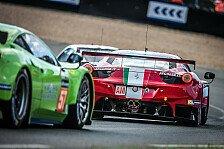 24 h von Le Mans - Kaffer ersetzt verunfallten Calado: Ferrari-Werkseinsatz f�r Pierre Kaffer