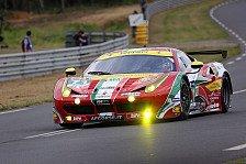 24 h Le Mans - Calado twittert: Hirnblutung nach Unfall
