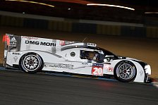 24 h von Le Mans - N�chster Unfall in den Porsche-Kurven: Qualifikation: Porsche-Doppelspitze nach Abbruch