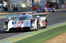 24 h von Le Mans - Es geht in die Schlussphase: Audi weiterhin in Front