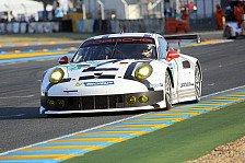 24 h von Le Mans - Mehr als Platz sechs nicht drin: Schwieriges Qualifying f�r die Porsche 911 RSR