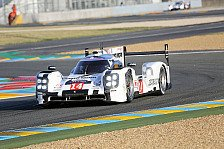24 h von Le Mans - Bei der R�ckkehr gleich ganz vorn: Startreihe eins f�r den Porsche 919 Hybrid