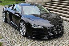 Auto - Markanter Keil: Audi R8 XII GT Aero-Kit