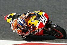 MotoGP - Marquez st�rzt im Qualifying: Pedrosa holt Pole Position in Barcelona