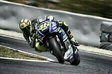 MotoGP - Die Spanier haben eine starke Pace: Rossi mit Top-5 zufrieden