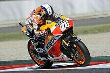 MotoGP - Rossi st�rzt: Pedrosa auch im Warm-Up vorn