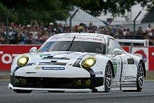 24 h von Le Mans - Das Auto lief wie ein Uhrwerk: Porsche 911 RSR in Le Mans Dritter