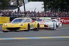 24 h von Le Mans - Video: Kampf der GTE-Giganten bei Nacht