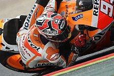 MotoGP - Ber�hrungen, Fehler und �berholman�ver: Marquez erlebt schwierigstes Rennen der Saison