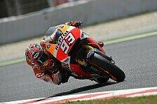 MotoGP - Keine Fortschritte f�r Marquez und Pedrosa: Honda-Testtag in Barcelona wenig erfolgreich