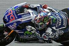 MotoGP - W�re tolle Gelegenheit f�r Sieg gewesen: Lorenzo scheitert an Beschleunigungsproblemen