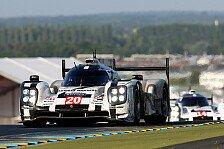 24 h von Le Mans - Starker Auftritt ohne Happy-End: Porsche 919 Hybrid erst in F�hrung, dann raus