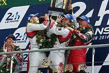 24 h von Le Mans - Ullrich widmet Sieg Mechanikern: Gro�e Emotionen bei den Siegern