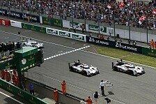 24 h von Le Mans - Audi besiegt Porsche und Toyota
