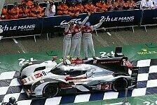 24 h von Le Mans - Zahlen vom 24-Stunden-Rennen: Die Fakten zum Audi-Sieg in Le Mans