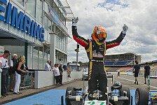 Formel 3 Cup - Heute war das erste Mal der Start nicht ganz so perfekt: Pommer ist Halbzeitmeister