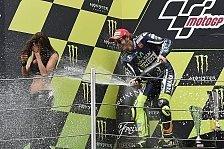 MotoGP - Siegchance war da: Rossi happy mit Platz zwei