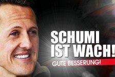 Formel 1 - Bilderserie: Reaktionen zu Schumachers Erwachen