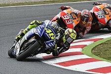 MotoGP - Ergebnisse kommen zu 99 Prozent von Rossi: Rossi �berrascht Yamaha-Manager