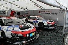 24 h N�rburgring - Vorjahressieger im Pech: Training: Erste Bestzeit f�r Audi