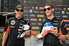 Formel 1 - Pastor ist ein netter Kerl: Grosjean: Kimi war ein interessanter Teamkollege