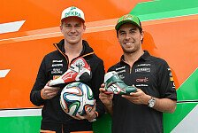 Formel 1 - Video: Arsenal vs. Force India