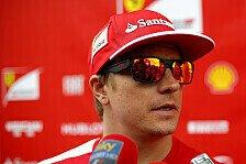 Formel 1 - Deutlich langsamer als Alonso: R�ikk�nen meckert: Wind, Verkehr, kein Grip