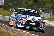 24 h N�rburgring - Problemloser Auftakt f�r Hyundai beim zweiten Einsatz: Hyundai Veloster Turbo f�hrt auf Startplatz zwei