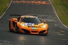 24 h N�rburgring - McLaren erneut an der Spitze: Pole-Position f�r D�rr Motorsport